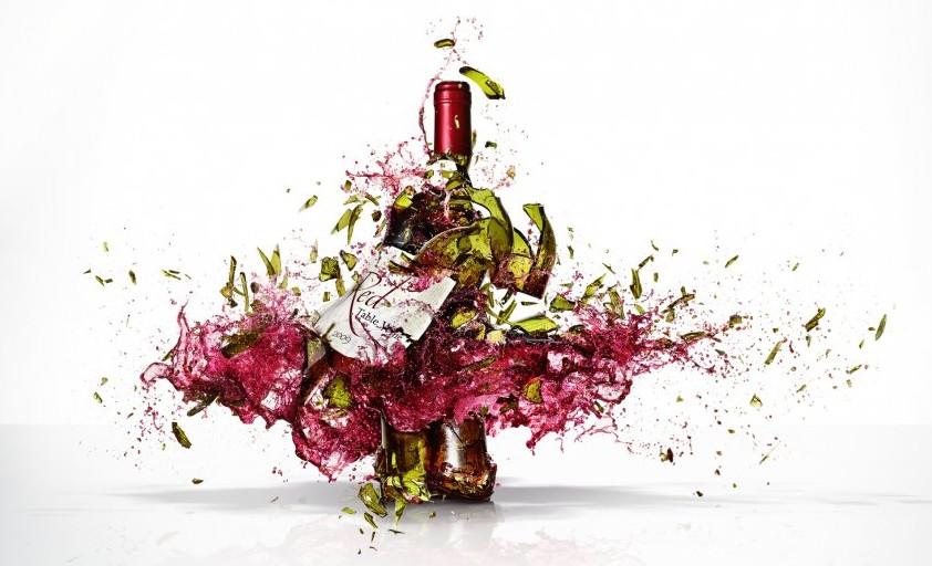 exploding wine
